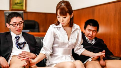 Japan blowjob at the office along Nonoka Kaede - JavHD